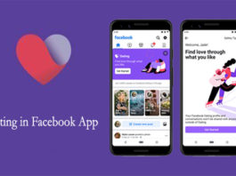 Dating in Facebook App Valentines Day