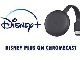 Disney Plus on Chromecast