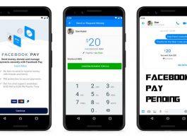 Facebook Pay Pending