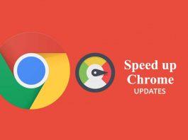Chrome Updates Speedup by Google